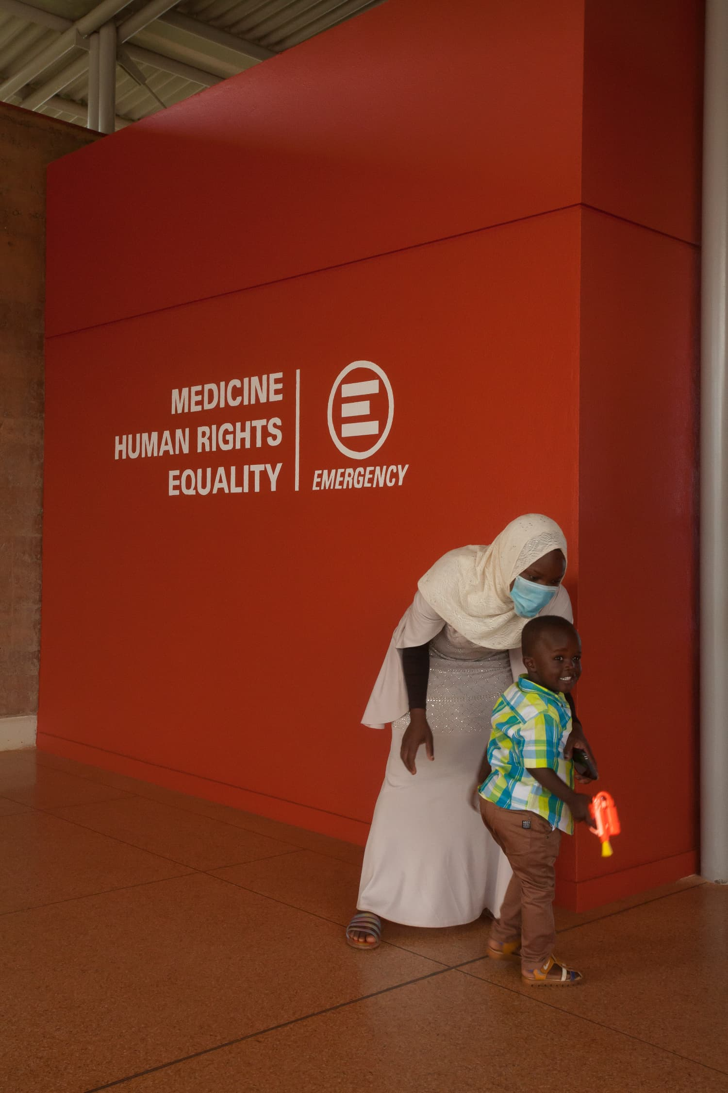 Ospedale EMERGENCY ad Entebbe, Uganda